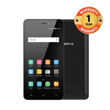 Gionee  P5W 5.0 HD Android 5.1 Touch Smart phone  Camera2MP/5MP RAM1G ROM 16G Always In Power Black