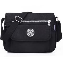 MeCooler Messenger Bag for Women Satchel Girls Crossbody Shoulder Bag Casual Sport Travel Bag Black Large