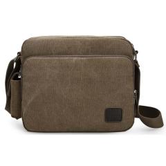 MeCooler Men  Messenger Bag  Vintage  Crossbody Shoulder Bag Cross Body Bag for Travel Brown Large