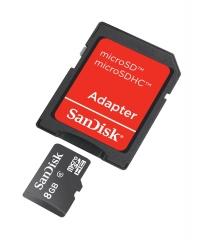sandisk memorycard-8gb
