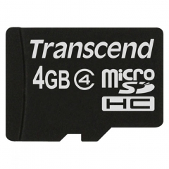Transcend memory card-4gb