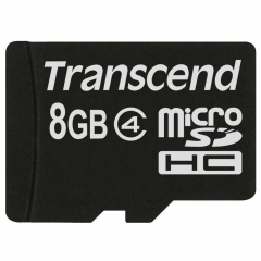 Transcend memory card-8gb