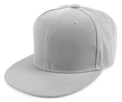 white-snapback hat