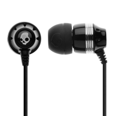 skull candy earphones-black