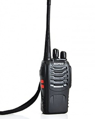 Baofeng BF-888S Walkie Talkie Single Band Two Way Radio Interphone - Black great