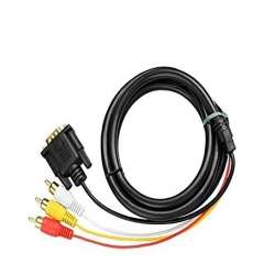 General Mobile General Mobile VGA To 3RCA Cable - Black great