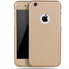 Iphone 5/5s 360° Full Protective Case - Gold great