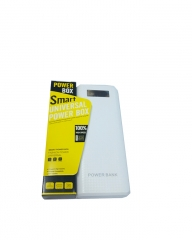 30,000 mAh Power Bank - White WHITE 30000mah