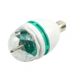 Disco LED Rotation Bulb WHITE 34 2344