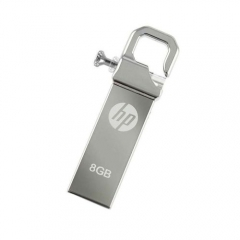 V250w -8GB -USB 2.0 -Pen Drive- Compact Metalic - Silver