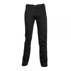 Black Slim Fit Soft Jean Trousers black medium