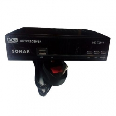 Digital Decorder. Free To Air. No Monthly Charges. Full HD 1080P With Usb - Black
