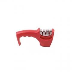 Knife Sharpener - Hand held - Red