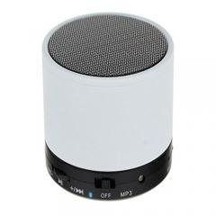 Mini Bluetooth Wireless Stereo Speakers FM, Memory Card, Bluetooth, USB - White
