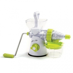 Manual Fruit and Vegetable Juicer - White And Green WHITE AND GREEN