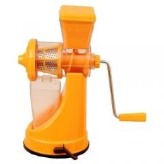 5-in-1 Juicer,Meat Mincer,Vegetable Grinder,Paster Maker & Sausage Stuffer - Orange orange