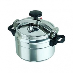 Amazing Pressure Cooker - Explosion proof - 9 Ltrs - Silver silver big