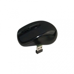 Nano Wireless Mouse - Black black small