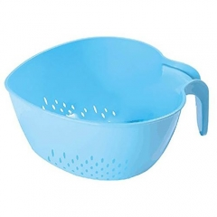 Rice and Vegetable Drainer - Blue blue small