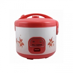 Mill Queen Rice Cooker With Steamer 1.8 L - Red