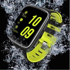 GV68 Smart Watch waterproof Summer Swim Wristwatch Sync Phone Call Notification pushing Heart GREEN one size