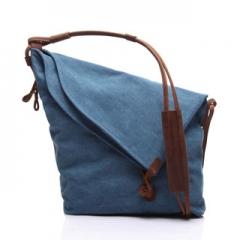 Hot Sales ! Designer Women Leather Handbags Shoulder Bags Ladies Large Capacity Shopping Bag Blue 14inch
