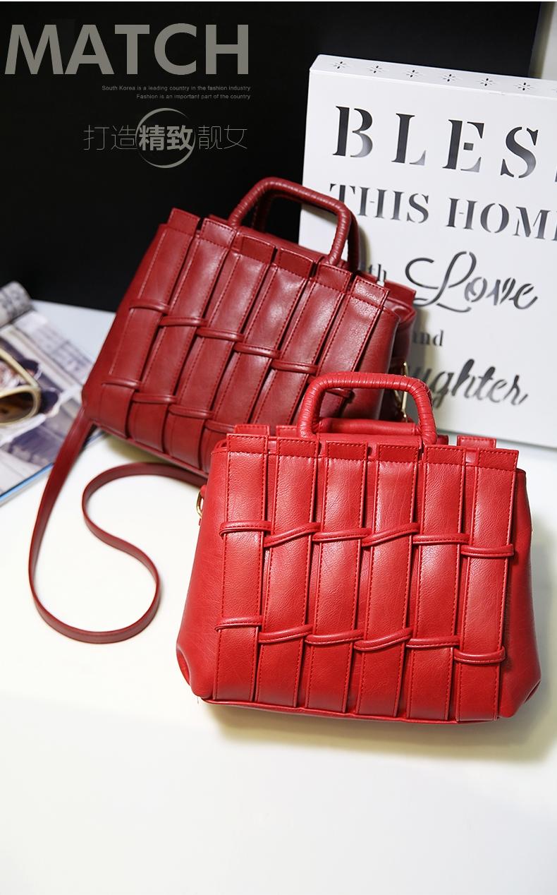 2e717e5a430 New fashion elegant atmosphere ladies handbag multicolor classic ...