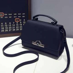 Fashion fresh all-match bright colors out of the ordinary fresh Travel Shopping women's bag Blue model