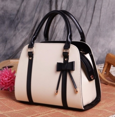 Hot Sold Women Handbag PU Leather Women Shoulder Bag Fashion Candy Color Casual Women Bag Female beige one size