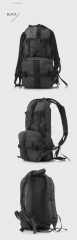 Multifunctional riding knapsack with Water bag containing 2.5L Outdoor  waterproof shoulder bag black one size