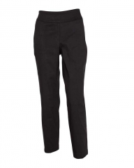Forever Young Black -Classic Pull On Fit Trousers Black 6