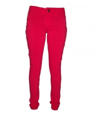 Forever Young -Stretchy Skinny Jeans in -Rich Red Red 1