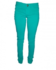 Forever Young -Colour Skinny Jeans - Green Green 1