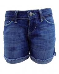 Forever Young Midi Short - Denim Blue denim blue 0