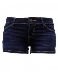 Navy Blue Denim - Shorty Short Navy Blue Denim 0