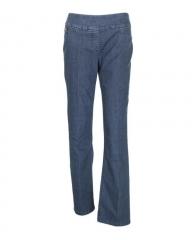 Deep Indigo Blue - Classic Pull On Fit Jeans Deep indigo blue 8