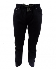 Black - Boys Jogger Pants Black L