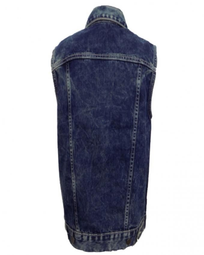 Blue Lt Wash - Sleeveless Jean