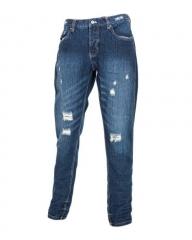 Blue Stone Men's Distressed Jeans Blue 40