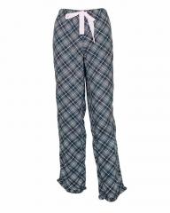 Black Soot Print Pajamas Black Soot L