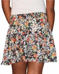 Ladies Floral Print multicoloured Mini Skirt Multiclored s