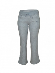 Wide Leg Ladies Sweatpants grey s
