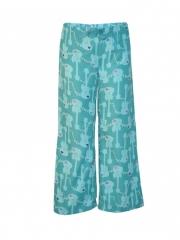 Printed Women Pajamas Light Blue s