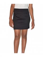 Plain Ladies Mini Skirt black s