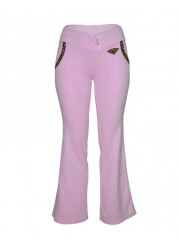 Pink Ladies Sweatpants pink s