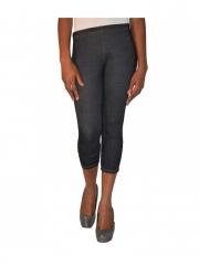 Black Ladies 3/4 Legging black s