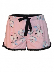 Pink Butterfly Print Boxer Shorts – Sleep Wear pink m