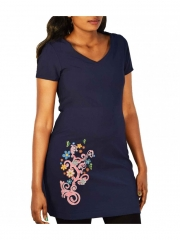 Ladies Dress navy blue xs