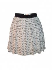 Skater Short Skirt for Women 2016 All Fit off white s