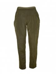 Ladies Slim Fit Pants green m